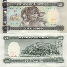 Eritrea five nakfa