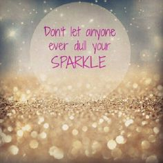 I love glitter, sparkles, shimmer - anything with a little bling to it.