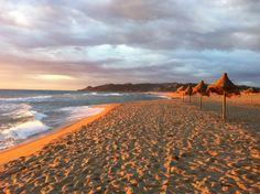 zonsopgang strand El Delfin Verde, Costa Brava, Spain