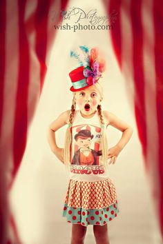 perfect outfit for my five-year-old girl to wear to her circus party!