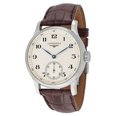 Longines Master Collection Silver Dial Brown Leather Men's Watch L26404785 - Master Collection - Longines - Shop Watches by Brand - Jomashop
