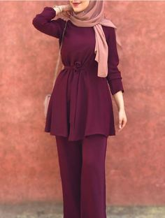 Modest Fashion Hijab, Modern Hijab Fashion, Modesty Fashion, Hijab Fashion Inspiration, Islamic Fashion, Muslim Fashion, Stylish Dress Designs, Stylish Dresses, Girls Fashion Clothes