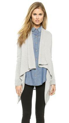 BB Dakota Fenna Cardigan : I like with the denim shirt