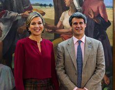 Maxima en Argentina con el ministro de Economía.