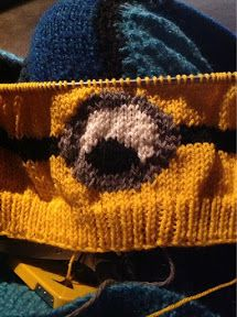 Despicable Me Minion Hat - Knitting Pattern