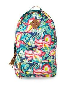 38cfd0342ad5 Cheap Beach Accessories Under  50  Island Girl Canvas Backpack