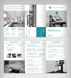 Clean and Simple Brochure for Conshohocken Physical Therapy - State of the Art Physical Therapy Facility | 99designs
