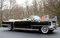 US Presidential Limousine (1956 Cadillac) #classiccars1956cadillac