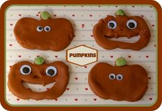 Pumpkin Play dough - Here Come the Girls