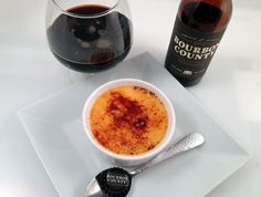 Creme Brulee with Goose Island Bourbon County Stout - Yummy