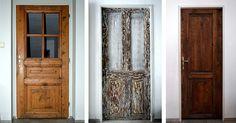 jak znovu použít staré dveře