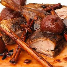 Recipe for Sweet Spiced Plum Asian Duck