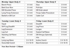 12 week strength training program