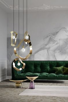 Home - TouchStone Lighting Cool Lighting, Pendant Lighting, Suspension Metal, Luminaire Design, Design Trends, Minimalism, Chrome, Things To Come, Kitchen Appliances
