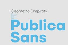 Publica Sans Free Demo is the Regular style of Publica Sans family, a clean geometric typeface. As we can see on the previews