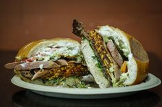 The Torta Cubana sandwich from That's It Market on Mission Street in S.F. Photo: Russell Yip, The Chronicle