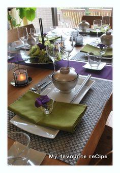 テーブルコーディネート教室☆ジャパニーズモダンで秋のおもてなし | My favourite reCipe - 楽天ブログ