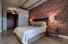 Toronto Lofts, Quartz Counter, Bedroom Office, Built Ins, Car Parking, Lockers, The Unit, Furniture, Design