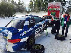 Testing  #test #testing #at #snow #rally #rallycar #subaru #subaru98 #subarurs #subaruimpreza #subarulife #subarusti #rajdy #testy #polish #polishboy #in #usa #usrally #europiandoors #doors#home by rallydriver94