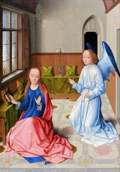 Dieric Bouts - The Annunciation. 1475 - 1487