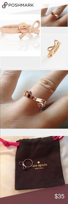 nice Kate Spade Bow Ring