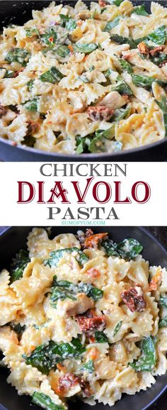 Chicken Diavolo Pasta