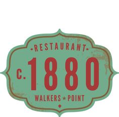 c1880 Walker's Point - to try list