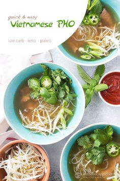 Easy Low-Carb Vietnamese Pho