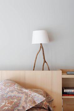 Современный интерьер с элементами стиля ретро. Wood LampsDesign ...