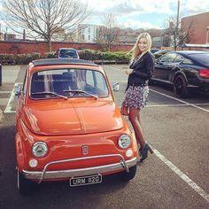 Fiat 500c, Fiat Abarth, Steyr, Car Girls, Classic Cars, Automobile, Lady, Vehicles, Dream Garage