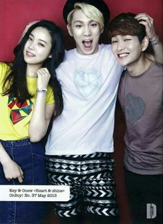 Jinki and Key for Oh Boy May 2013 Issue