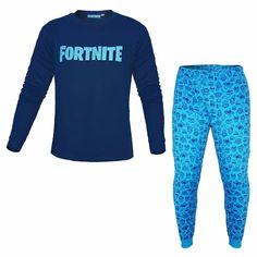 blu reale Fortnite Maglietta ufficiale per bambini in cotone