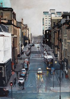 The view from Glasgow School of Art, Ryan Mutter // love stuff like this!