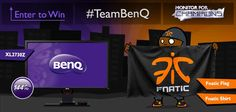 Fnatic & BenQ are giving you the chance to win a 144hz BenQ XL2730Z gaming monitor and some Fnatic goodies. Complete the actions to take part!