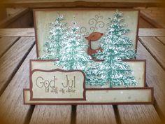 """""""3D"""" Christmas card"""