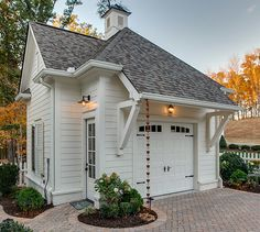 SL1952 - Garage for Grove Manor house plan but sweet as a stand-alone