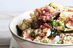 Bacon Fried Rice recipe - @Kristen @DineandDish