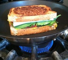Cooking up the vegan grilled cheese