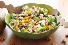 Kuchnia w wersji light: Sałatka z mango i mozzarelli