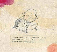 Tea time by Little Doodles, via Flickr