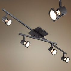 Pro Track 200 Watt Bronze Ceiling Light Fixture - #30814 | Lamps Plus