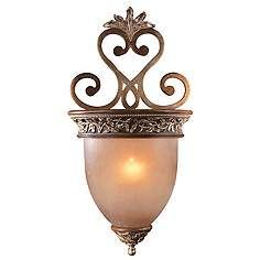 Jessica McClintock Bronze Grand Salon Wall Sconce