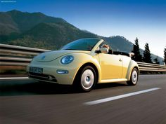 Just recently ordered a 2014 yellow bug convertible. My next car, a yellow VW Beetle Convertible! (The 2012's don't have convertibles.....yet.)