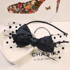 Cheap hair accessories for girls, Buy Quality hair band bow directly from China hair bow barrette Suppliers: 	2014 New Fashion Black Bow Hair Bands with dot mesh For Women/Ladies/Girls Free Shipping		  	  	  	&nbsp