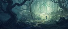 Old Forest B (Patreon IP03) by andreasrocha on DeviantArt