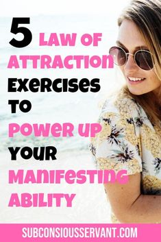 If you want to improve your manifesting ability these 5 law of attraction exercises will help you. Theyre all beginner friendly and dont take much time to try. Try them out and see which one helps you most. Law Of Attraction Money, Law Of Attraction Quotes, Human Flag, Manifesting Money, Manifestation Law Of Attraction, How To Manifest, Numerology, Dream Life, How To Fall Asleep