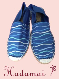 HADAMAI: Alpargatas Azules ondas t.38