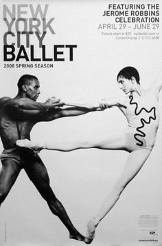 New York Inspired Artwork - Large Scale Art Pieces    Apartment Therapy Classifieds    Nyc_ballet_original_poster___jerome_robbins___2__x_3__a_large