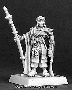 Cleric of Ishnar, Mercenaries Cleric Reaper Miniatures, Fantasy Miniatures, Battle Games, Cleric, Metal Models, Statue, Artist, Painting, Minis