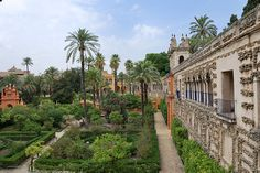 Alcazar de Sevilla (Water Palaces of Dorne GOT)